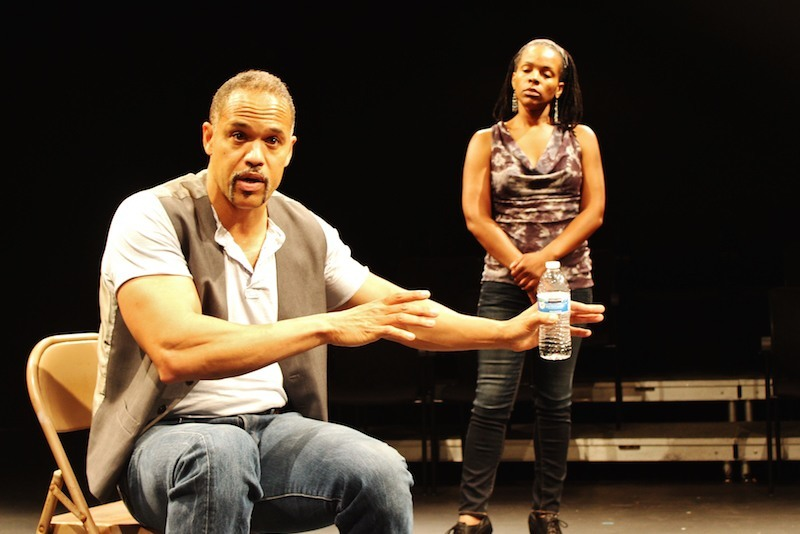 w/Keith Hamilton Cobb for American Moor talkback
